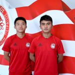 Two Chinese players join Olympiacos Academy!