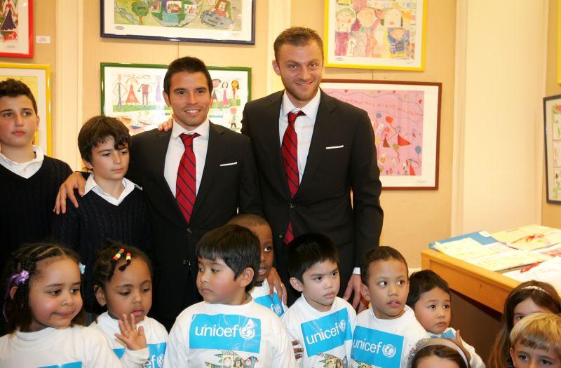 Ο Ολυμπιακός και η UNICEF βραβεύουν τα παιδιά!
