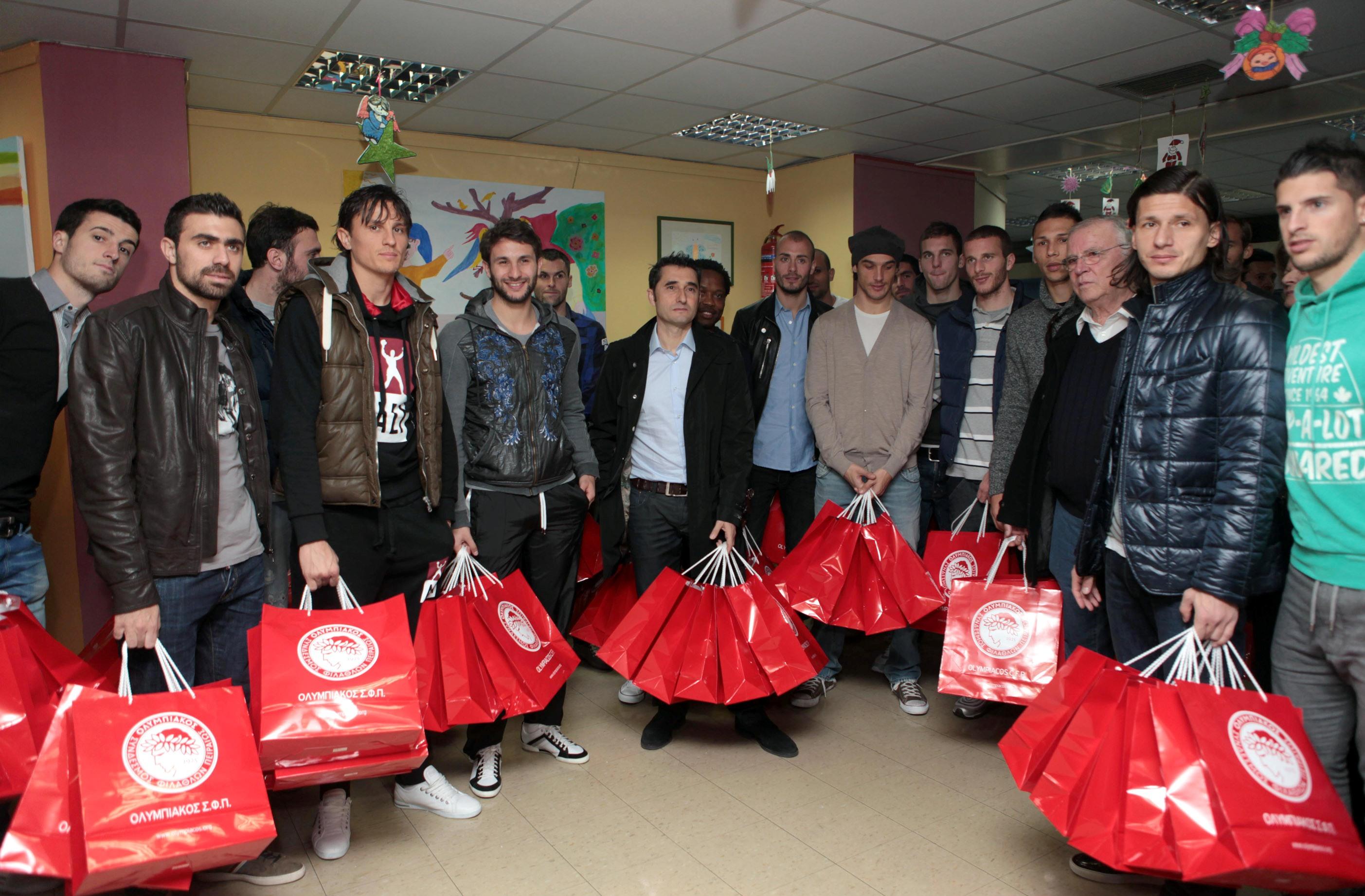 "Carta de agradecimiento del Hospital Infantil ""Agia Sofia"""