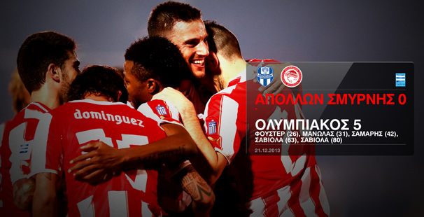 Apollon – Olympiacos 0-5