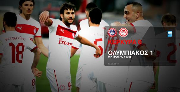 Kerkyra – Olympiacos 0 -1