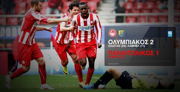 Olympiacos – Panaitolikos 2 -1