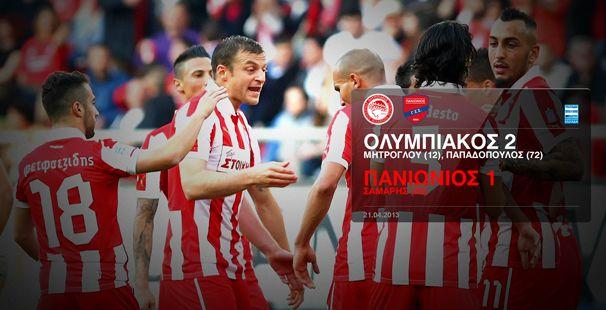 Olympiacos – Panionios 2-1