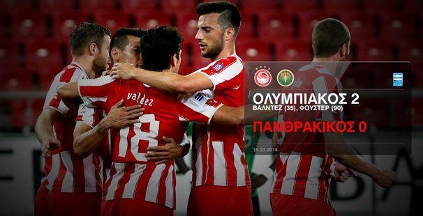 Ολυμπιακός – Πανθρακικός 2-0