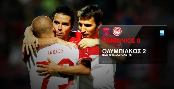 Panionios – Olympiacos 0-2