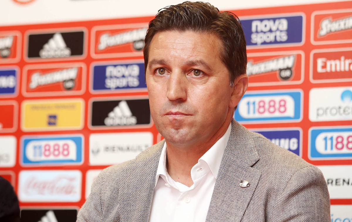 Besnik Hasi appointed as Olympiacos' new head coach