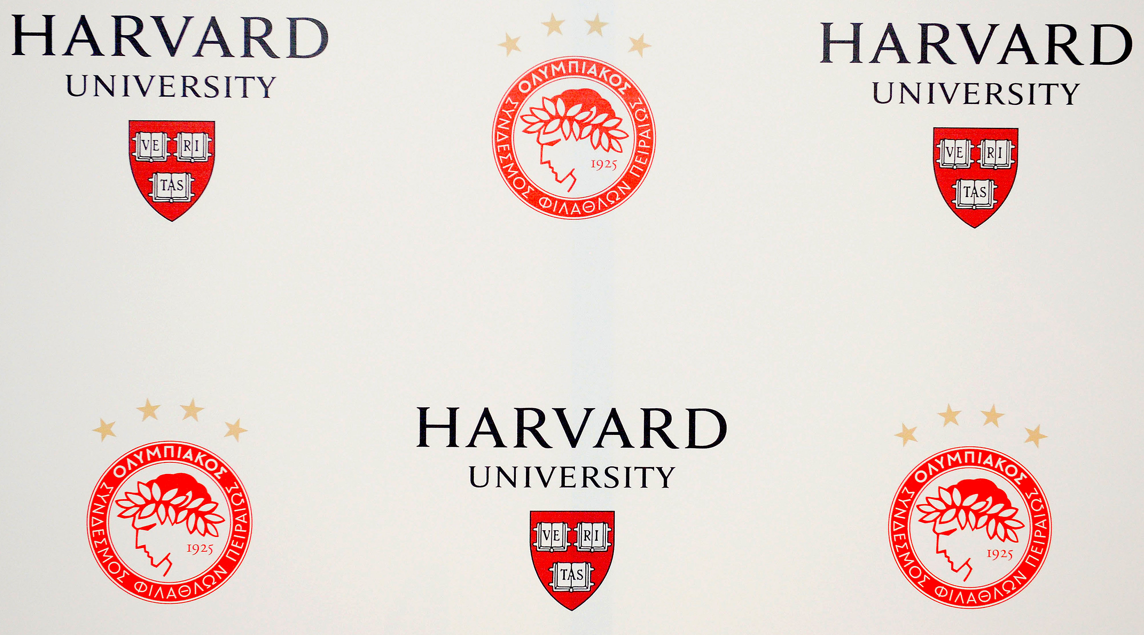 Olympiacos and Harvard University, always moving along