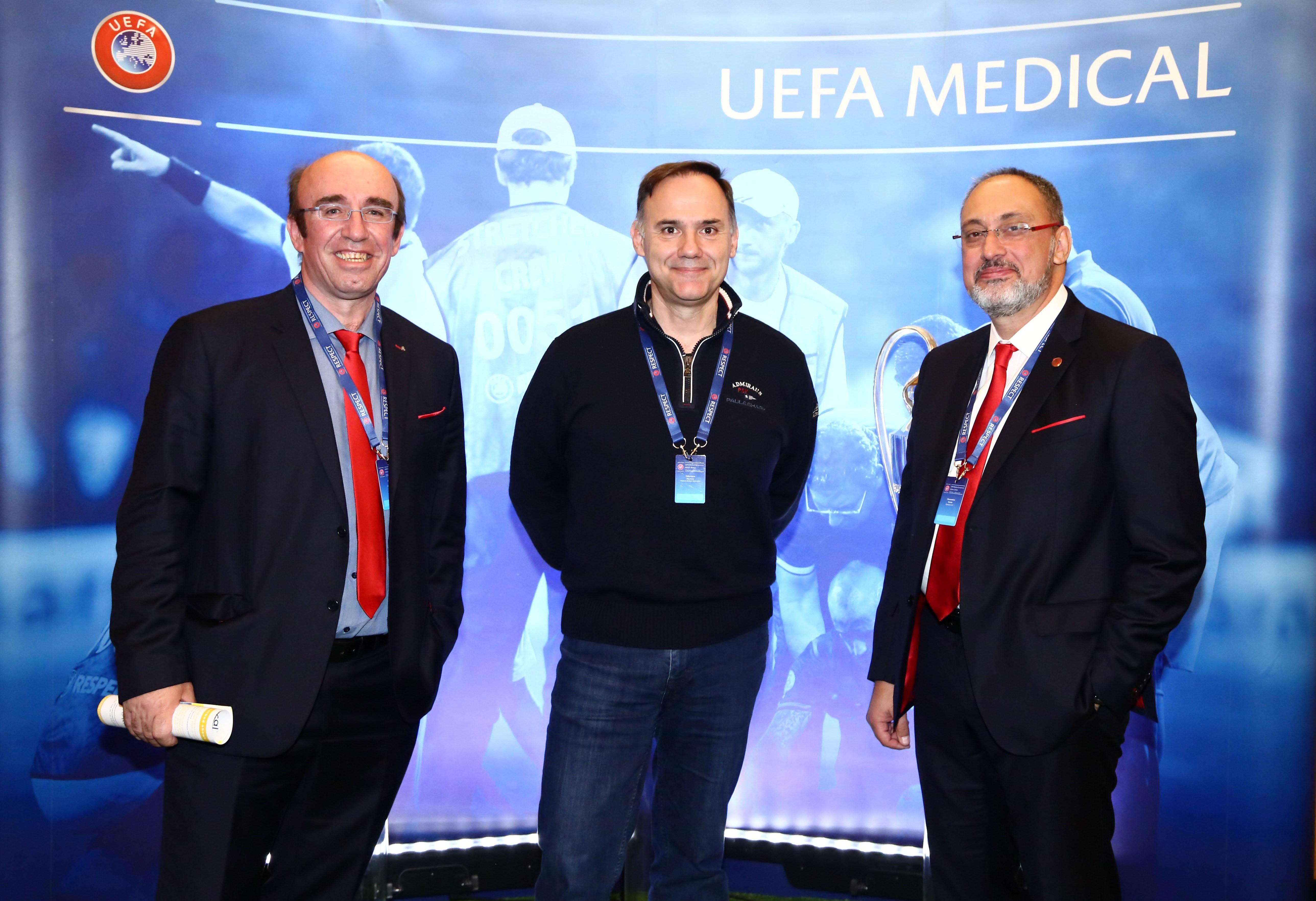 Ο Ολυμπιακός στο 7ο Ιατρικό Συνέδριο της UEFA