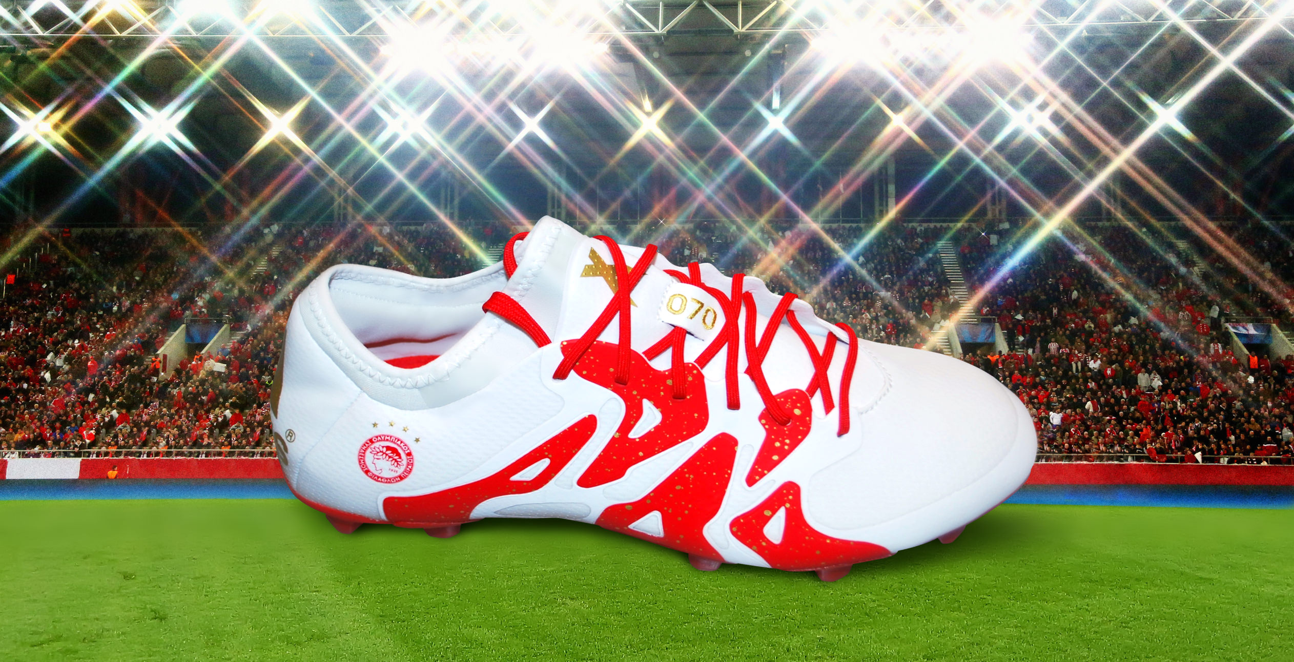 Η adidas γιορτάζει τα 90 χρόνια του Ολυμπιακού