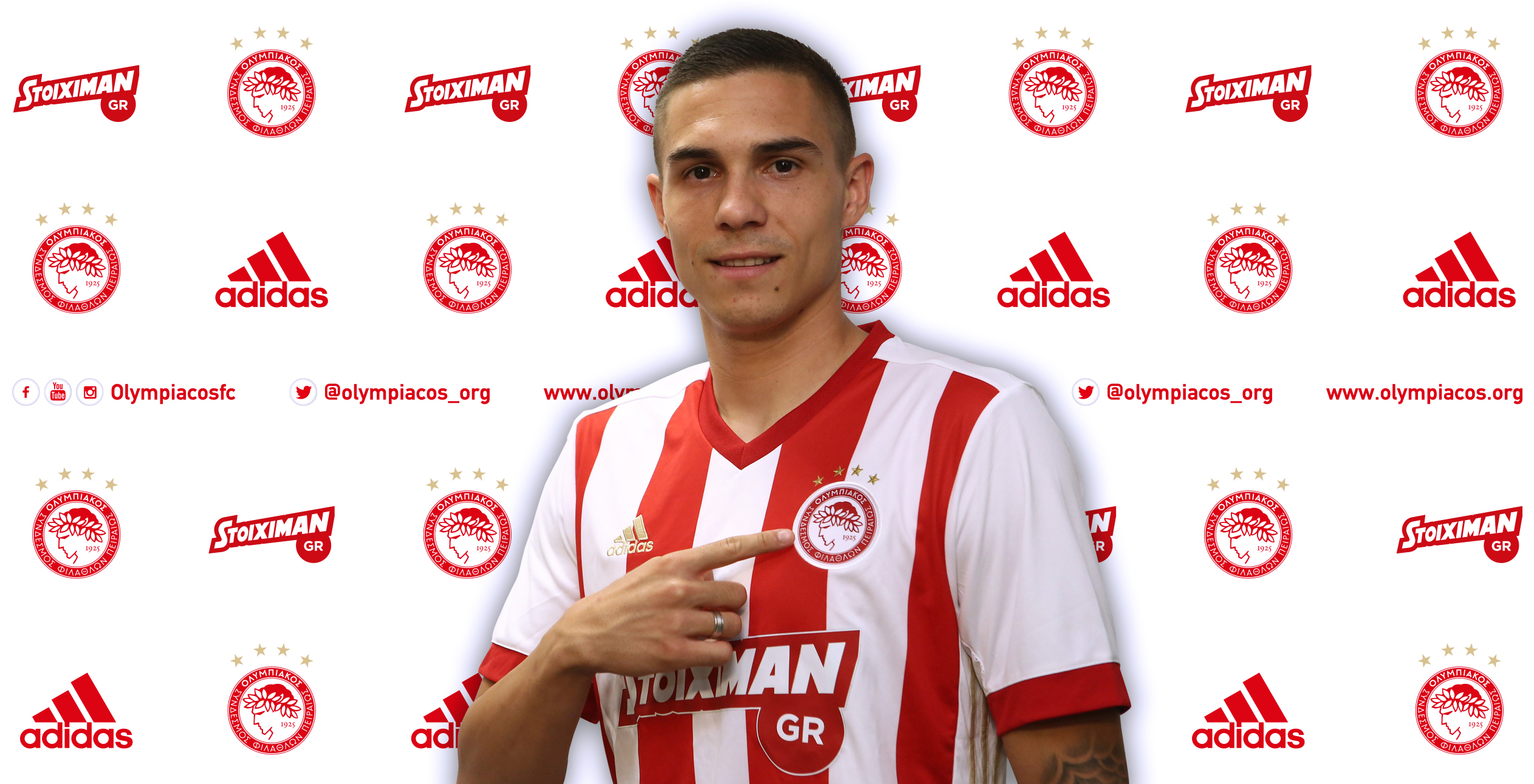 Djurdjevic signs for Olympiacos!