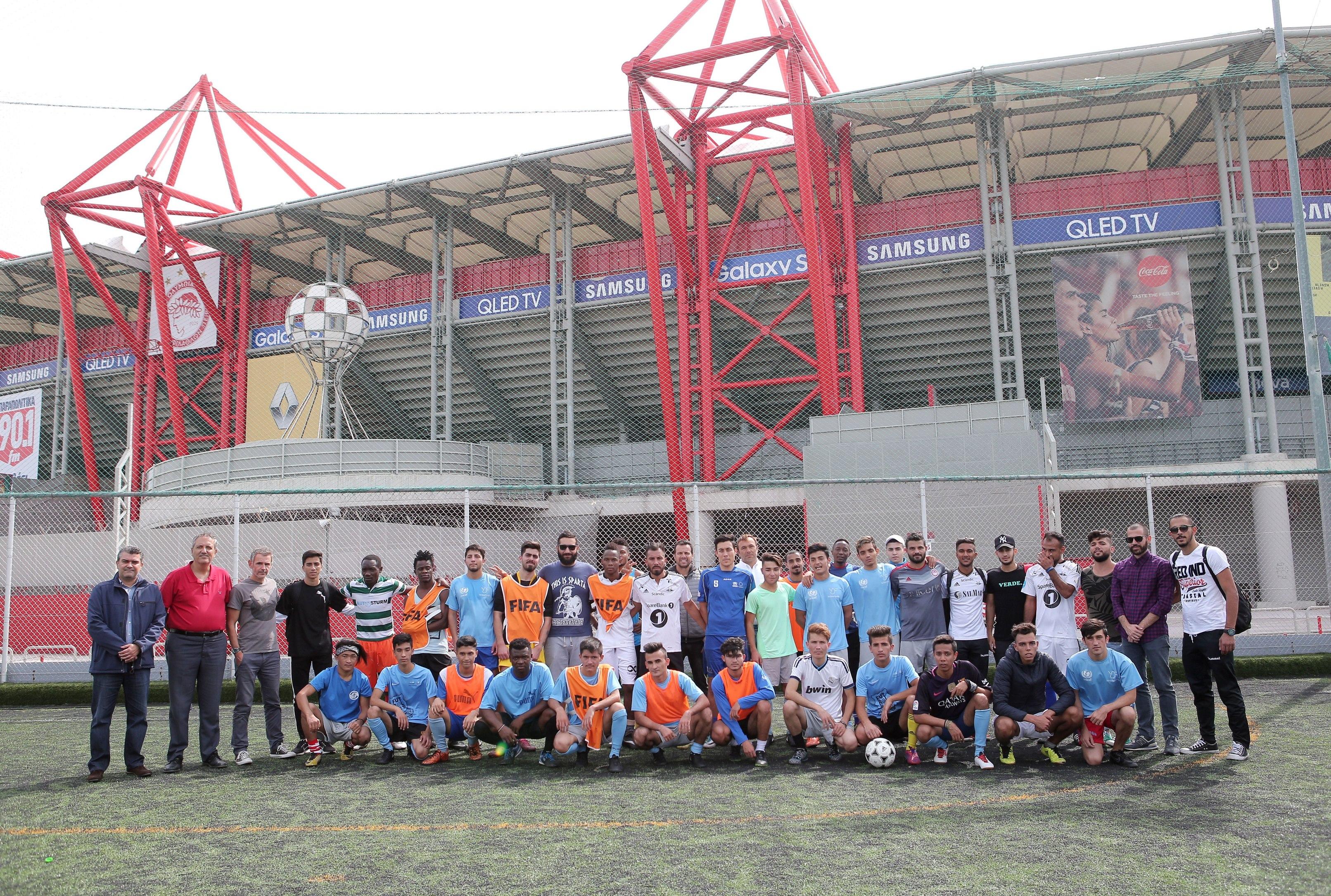Συνεχίζεται η στήριξη στην «Αθλητική Ελπίδα Προσφύγων»