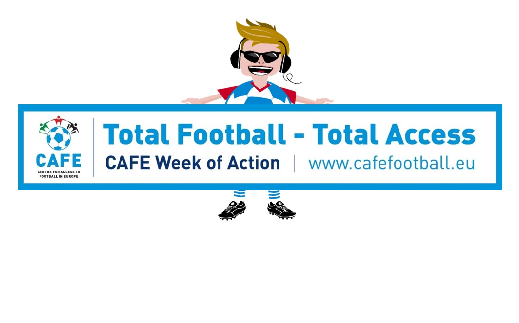 We support the CAFE Week of Action – Total Football #TotalAccess