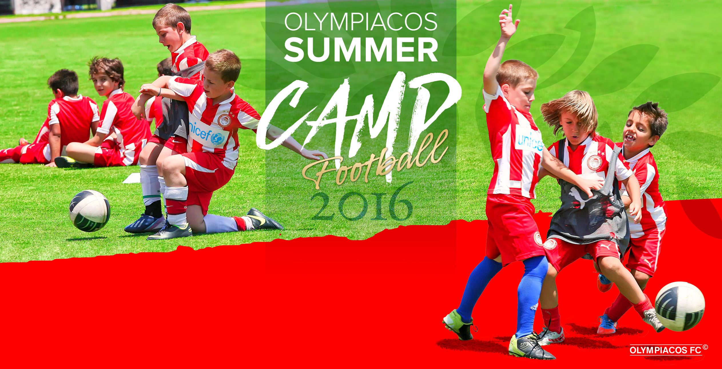 Time for the Olympiacos Summer Camp!