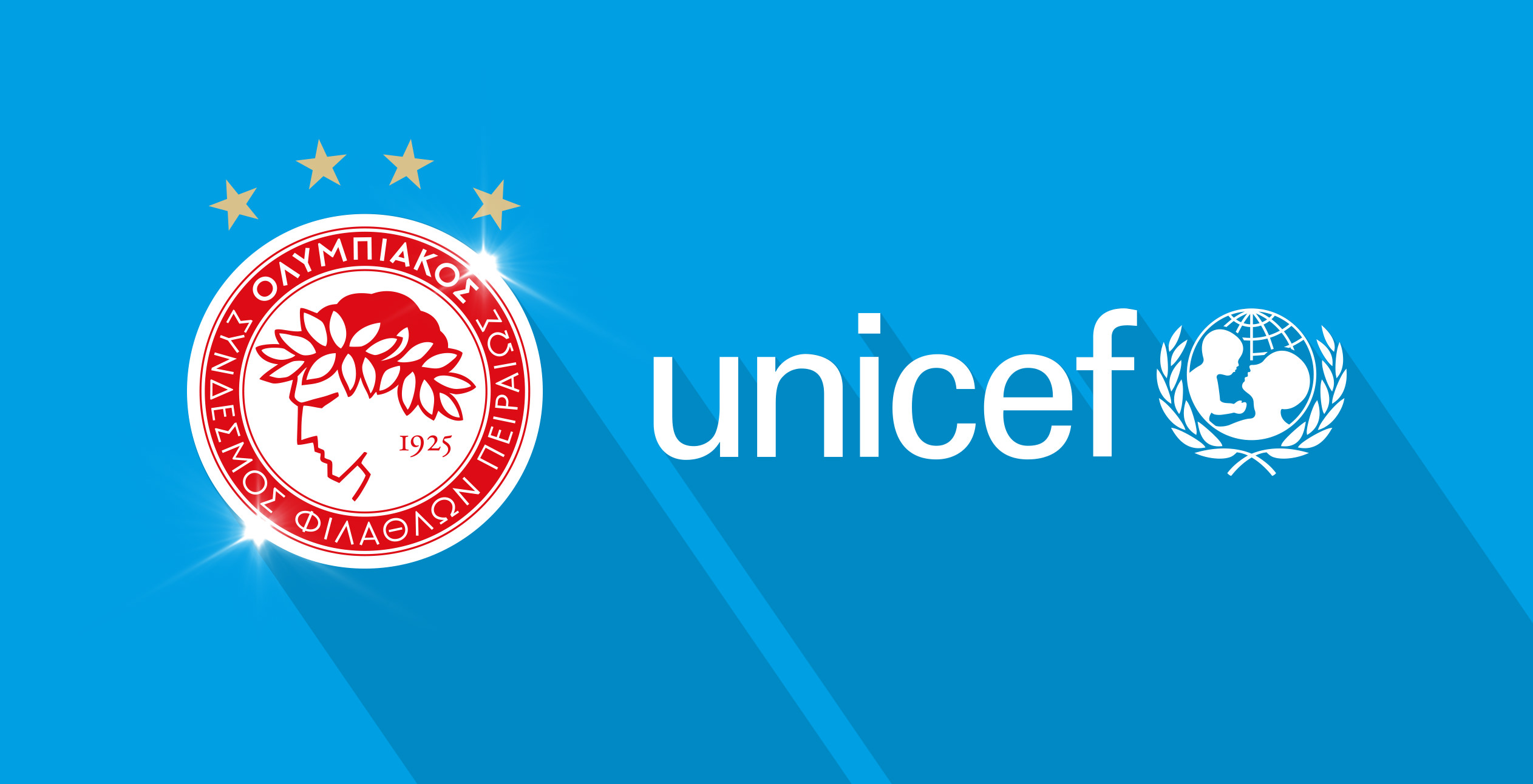 Olympiacos FC and UNICEF renew their partnership