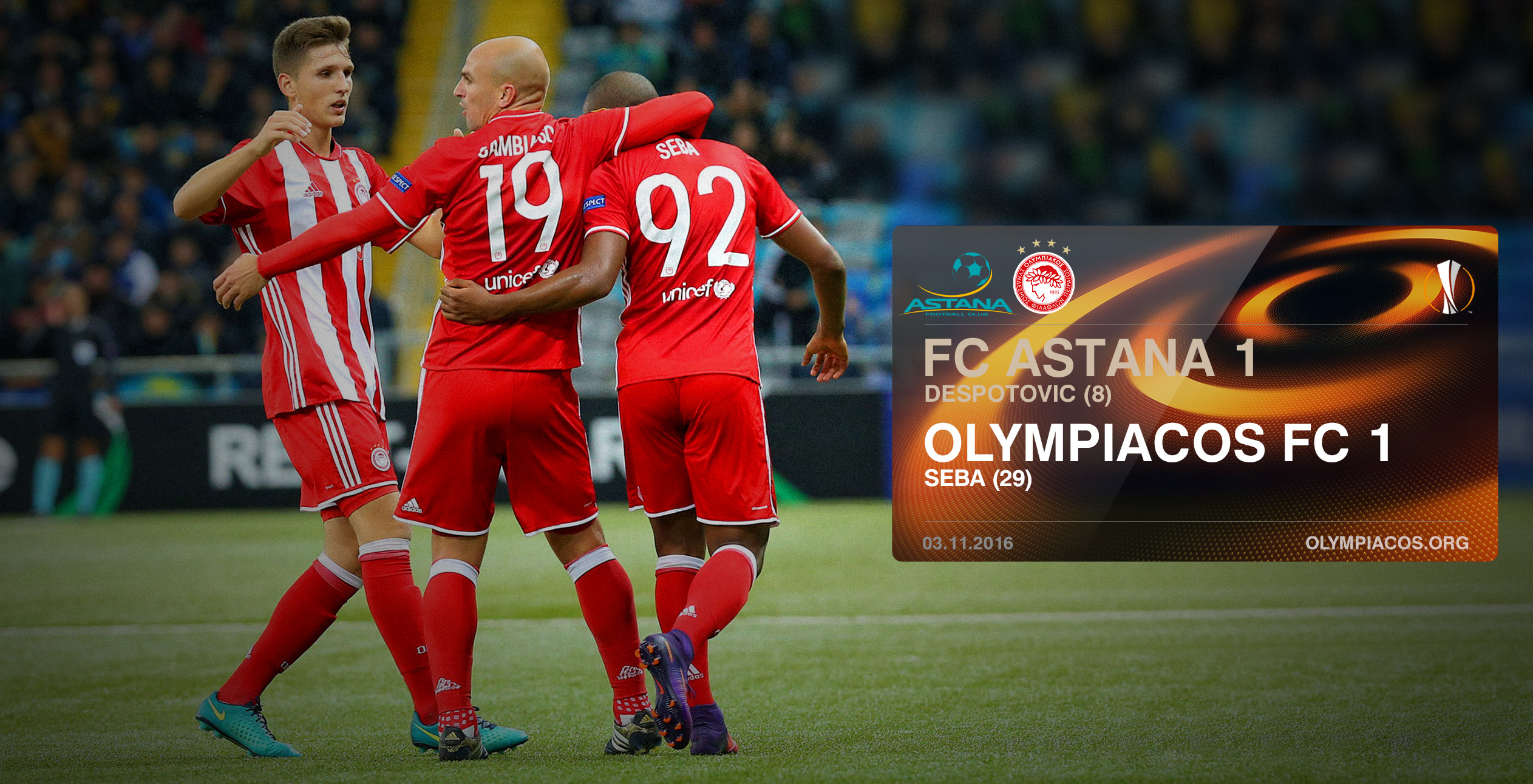 Astana – Olympiacos 1-1