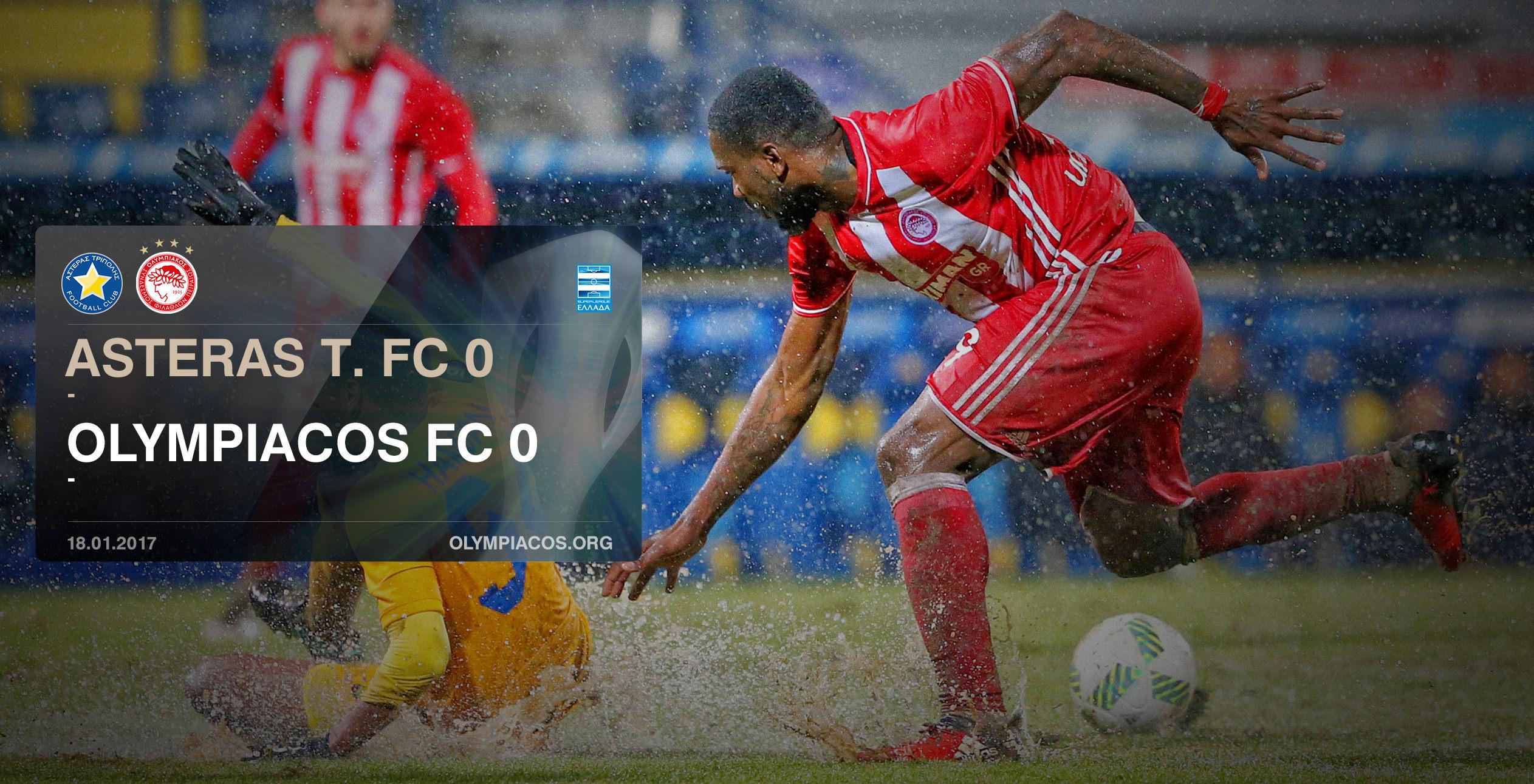 Asteras Tripolis – Olympiacos 0-0