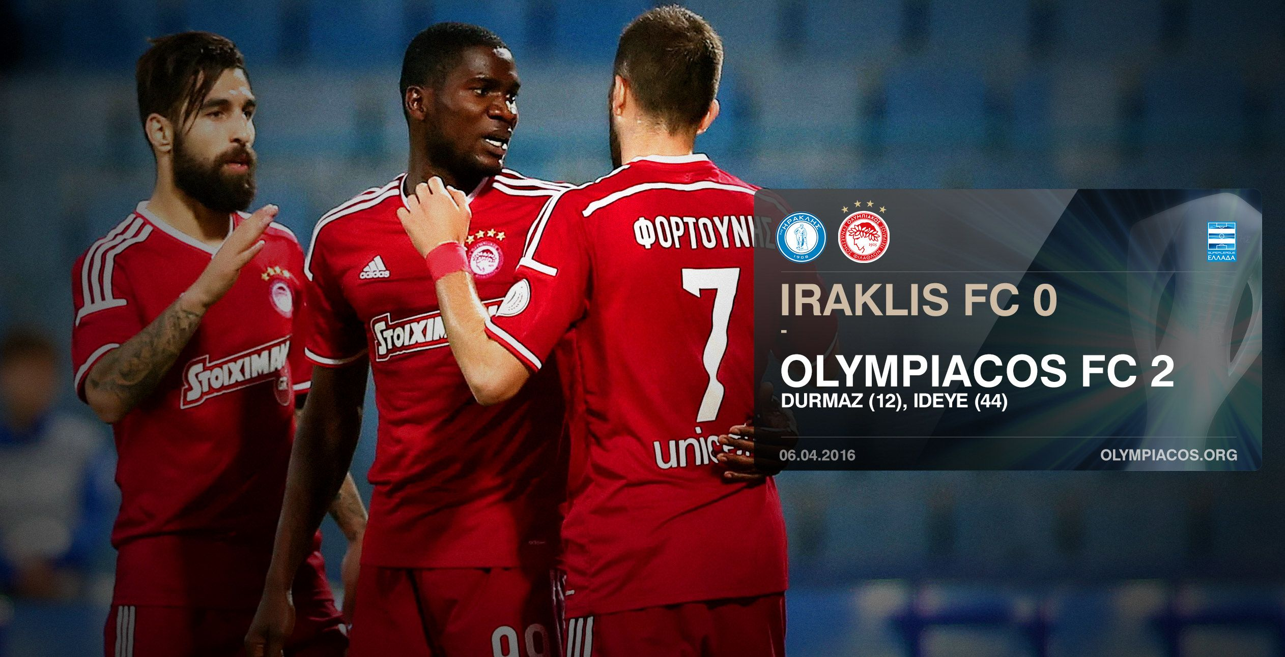 """Iconic """"Hercules"""" of Iraklis FC succumbs to the record-breaking Legend"""