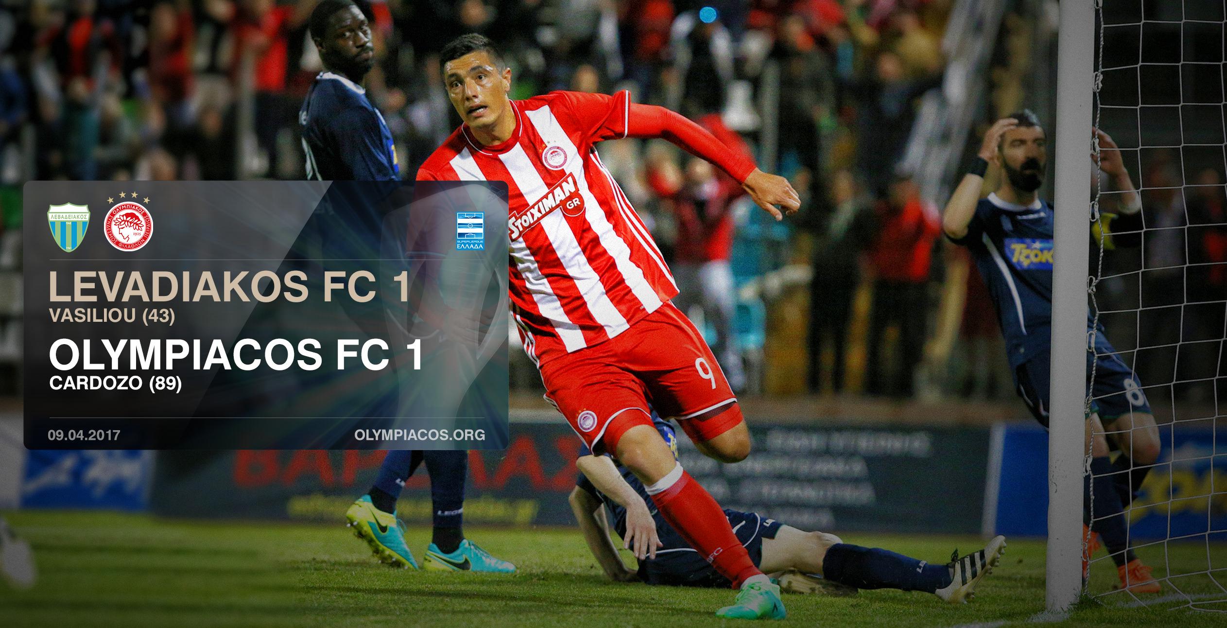 Levadiakos – Olympiacos 1-1