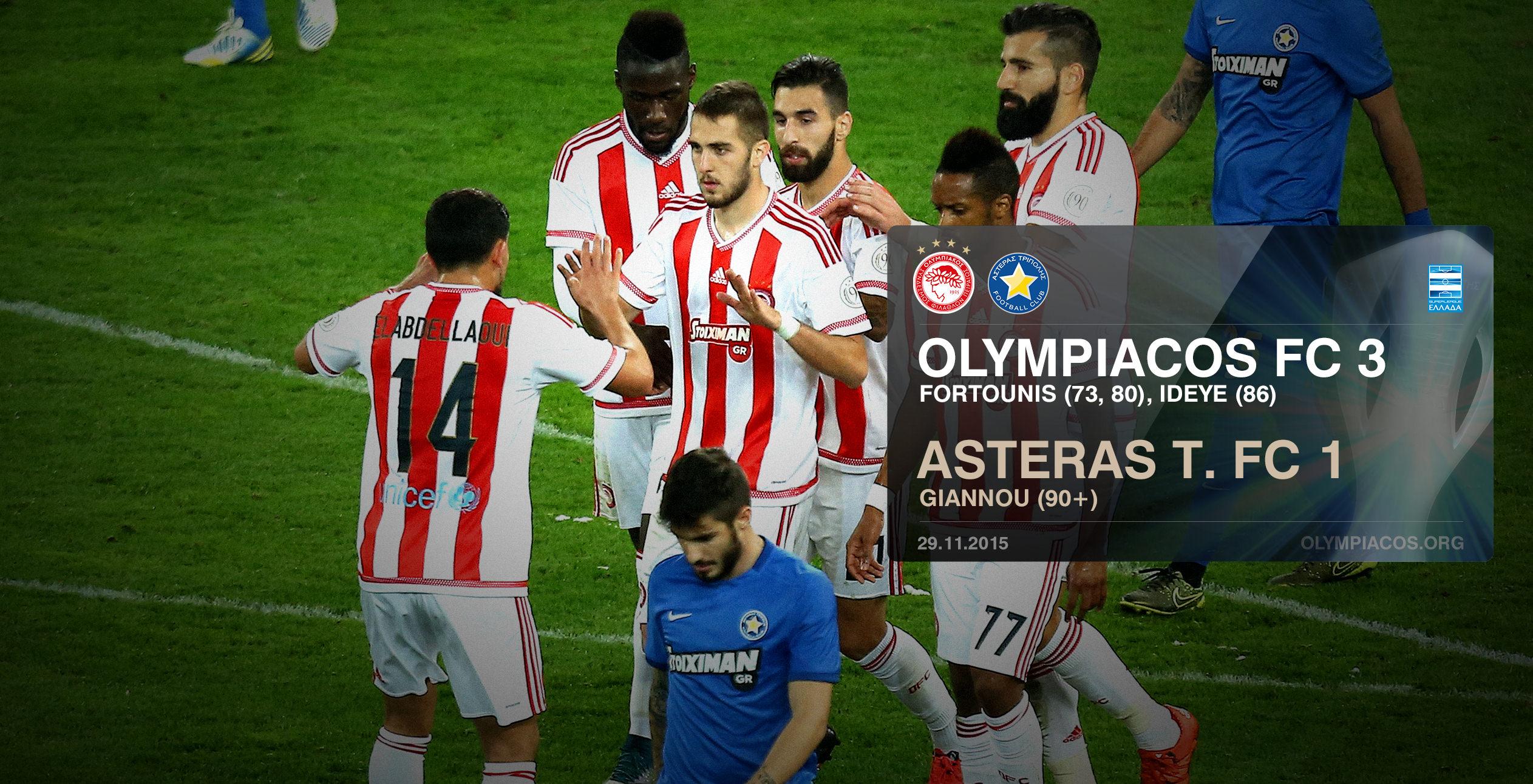 Olympiacos, la formidable équipe de Silva !