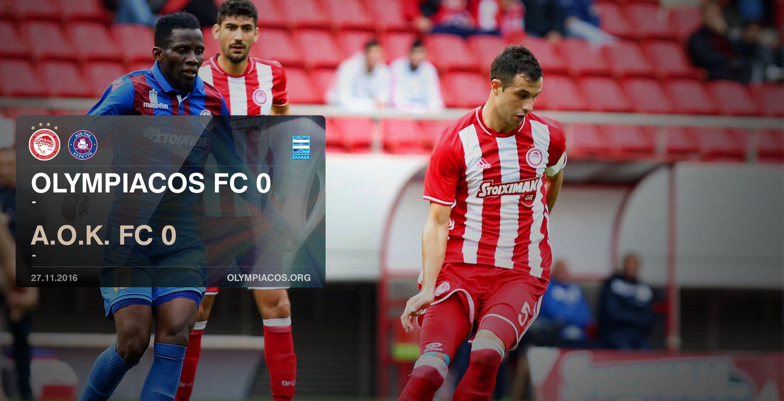 Olympiacos – Α.Ο.Κ. 0-0