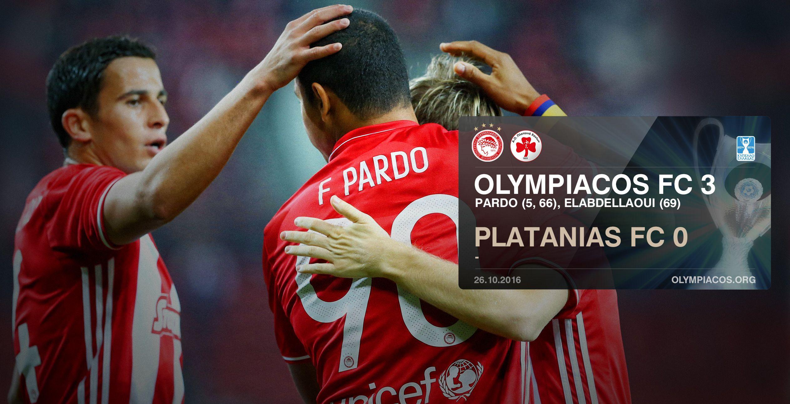 L'Olympiacos part du bon pied (3-0) en Coupe de Grèce