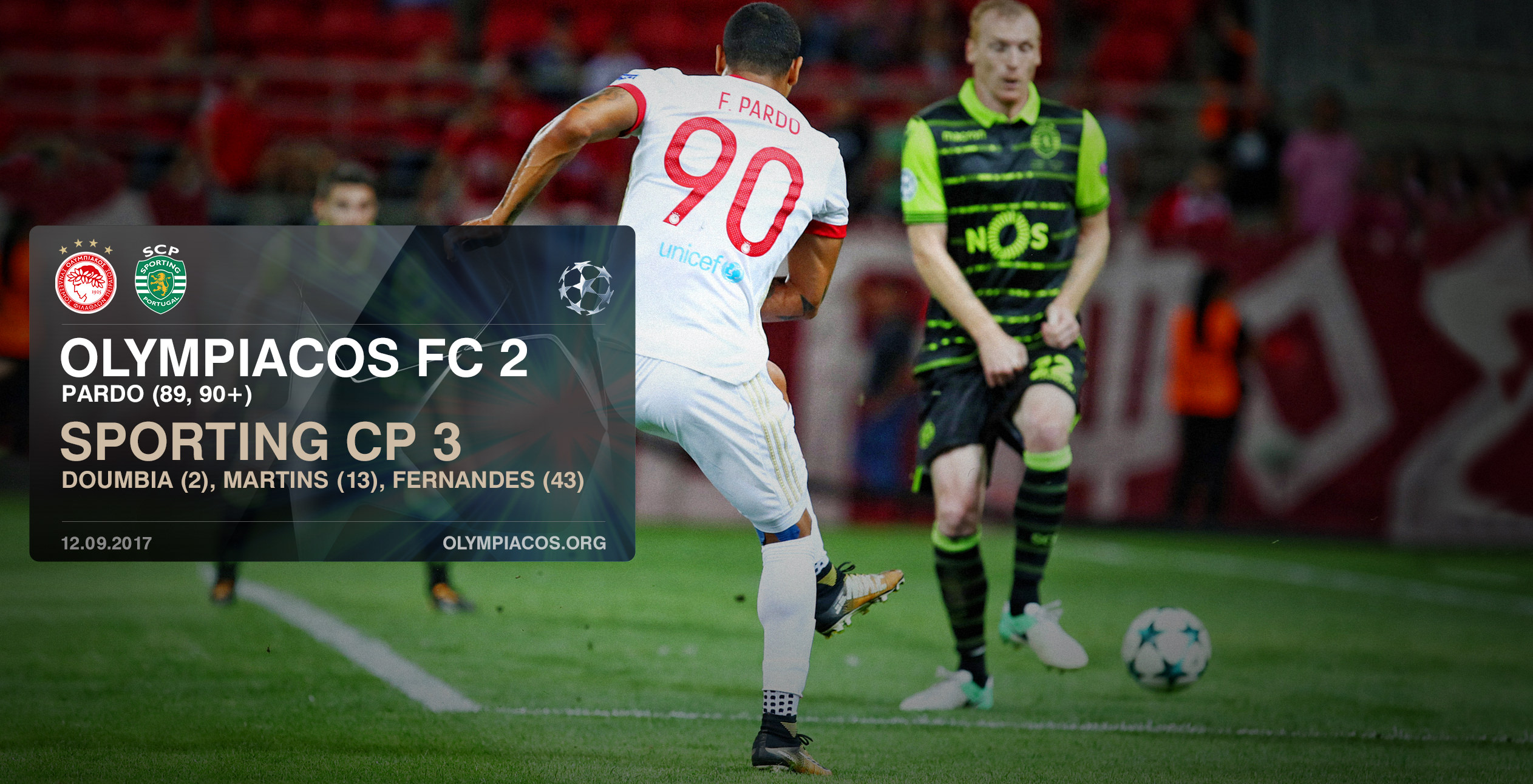Olympiacos – Sporting 2-3