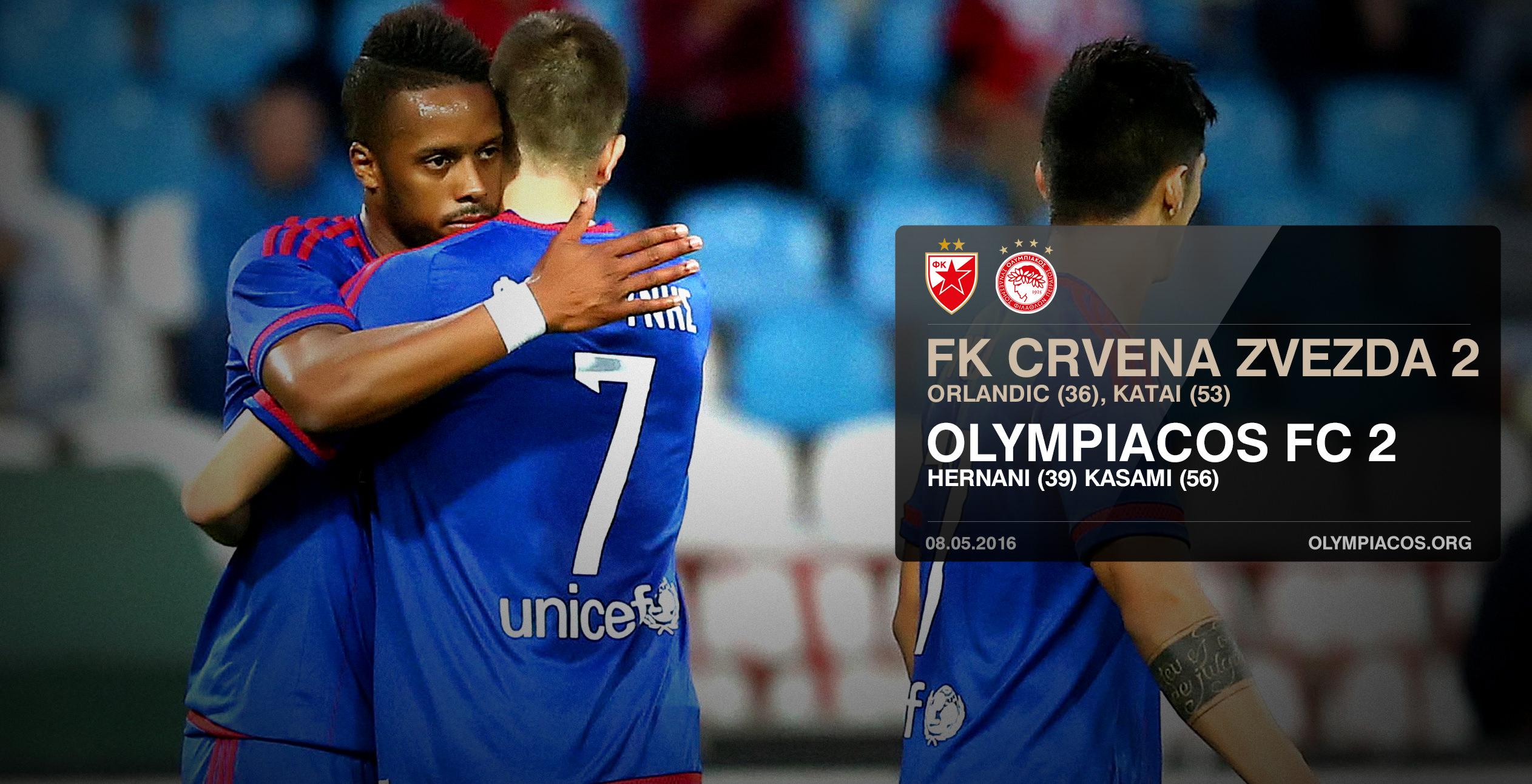 FK Crvena Zvezda (Red Star) – Olympiacos 2-2