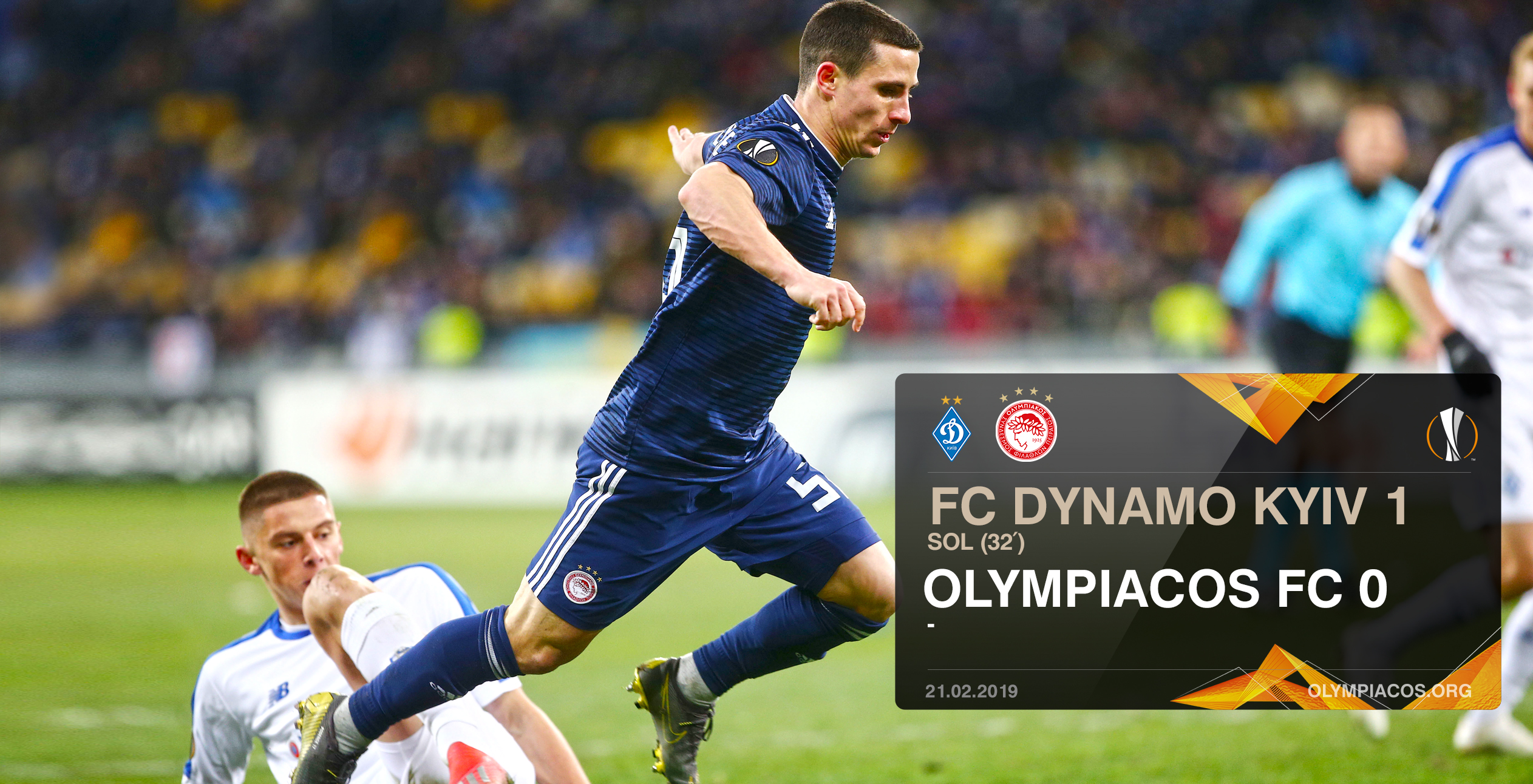 Dínamo Kiev – Olympiacos 1-0