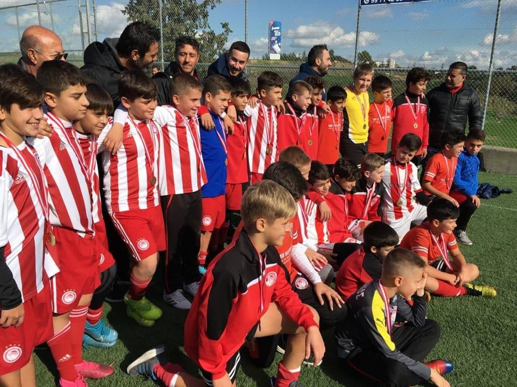 Μεγάλη συμμετοχή στο τουρνουά Σχολών της Κύπρου