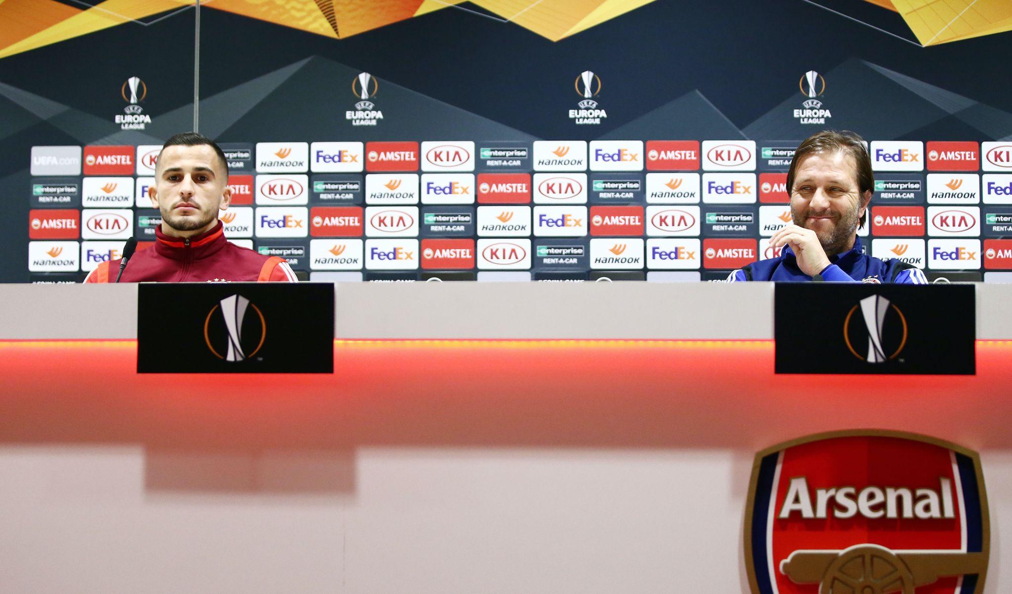 Pre-match press conference by Martins and Elabdellaoui