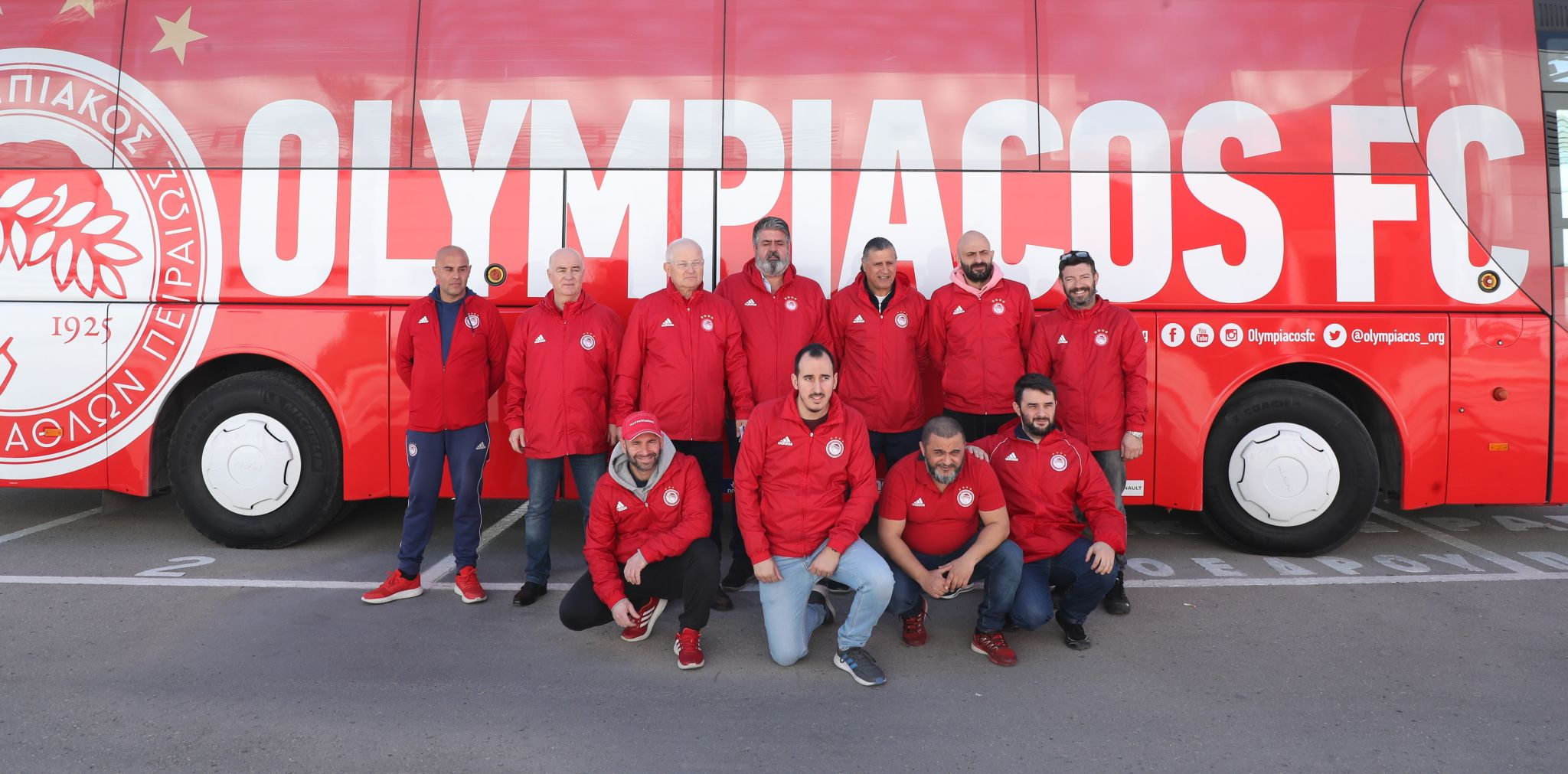 Olympiacos standing by our border guards